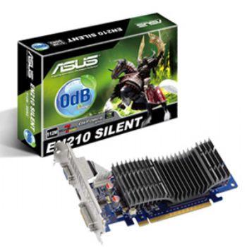 Ver SVGA GEFORCE EN210 ASUS 1GB DDR3 SILENT LP