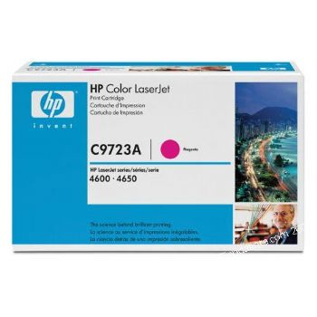 Ver TONER HP C9723A LJ COLOR 4600 MAGENTA 8000 Paginas