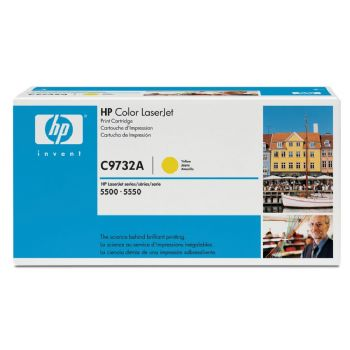 TONER HP C9732A LJ COLOR 5500 AMARILLO 12000 pag