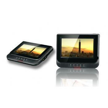 Dvd Portatil 3go Doble Pantalla 7