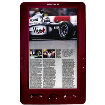 E-book Sunstech Eb700 Rojo