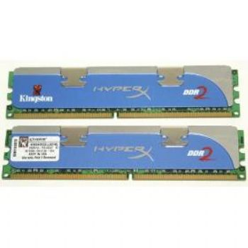 Memoria Kingston Ddr2 4gb  2x2gb  1066mhz