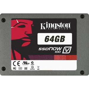 Hdd Ssd 64gb Kingston En Estado Solido  25 Sata  Interno  Sv100s2d