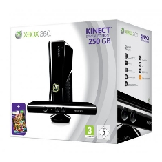 Consola Xbox 360 Premium 250 Gb   Kinect   Kinect Adventures