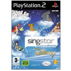 Juego Ps2 - Singstar Singalong Con Disney