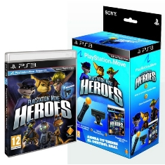 Juego Ps3 - Playstation Move Heroes   Move Starter Pack