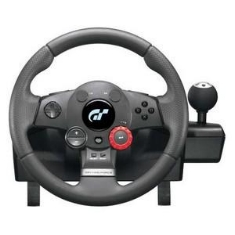 Volante Logitech Driving Force Gt Force Feedback Wheel Para  Ps3