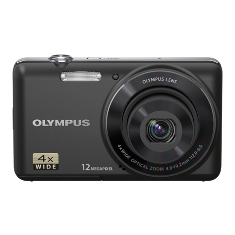 Camara Digital Olympus Vg-110 Negra 12 Mp Zo X4  Lcd 27 Litio