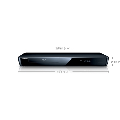 Dvd Blu Ray Samsung Sobremesa Full Hd  Wifi  Mp4  2 Usb  Hdmi  Descodificador Para 71