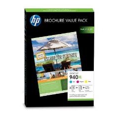 Pack Cartuchos Color 940xl Para Hp Officejet Cian  Magenta  Amarillo