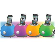 Altavoces Ihome Ip15 Para Ipod Ihone Mp3 Cambia De Color
