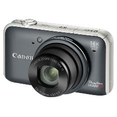 Canon Power Shot Sx220 Hs Gris
