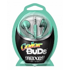 Auriculares Color Bud Maxell  Verde
