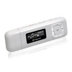 Reproductor Mp3 8gb   Fm Tsonic 330   Blanco  Transcend