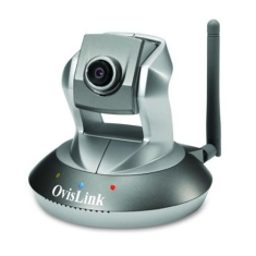 Camara De Vigilancia Ip Wifi Ovislink Motorizada Mpeg4 30fps Detect Movim