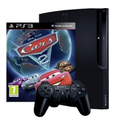 Consola Ps3 Slim 320gb   Cars 2