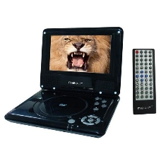 Dvd Portatil Nevir Nvr-2728 7 Xdiv Mando Multifuncion