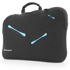 FUNDA SLEEVE NEOPRENO PHOENIX  PARA PORTATIL NETBOOK HASTA 12
