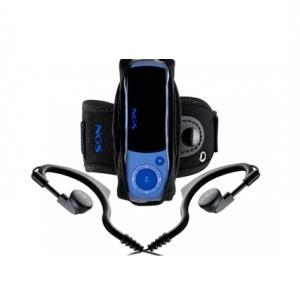 Reproductor Ngs Mp3 Popping 4gb Earhooks Azul Bluepopping4gb