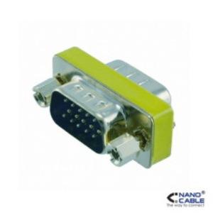 ADAPTADOR VGA NANOCABLE HDB15M-HDB15M  10160002