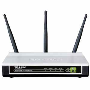 Punto Acceso Inalambrico Tp-link 300mbps 3 Ant Desm 4dbi Tl-wa901nd