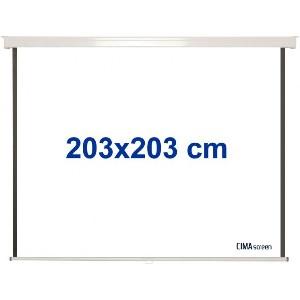 PANTALLA VIDEOPROYECTOR MANUAL CIMA CIS200 200X200 100PULG 1 1