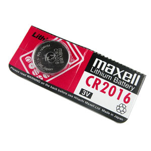 Pila Boton Litio Maxell Bl1 Cr2016