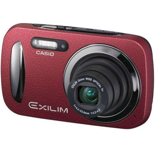 Camara Fotos Digital  Casio Elegant Ex-n20rd 5x 161mp 27  Rojo