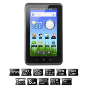 Tablet Pc Woxter Pc75 Cx 8gb Tb26-019 K2a