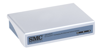 Smc Hpavh-eth Powerline Homeplug Av Ethernet Adapter
