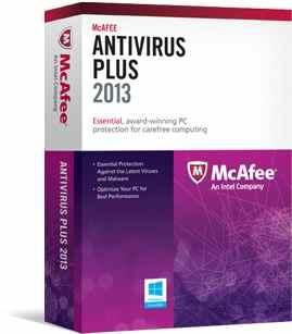 Mcafee Antivirus Plus 2013  1u  Esp
