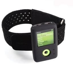 Creative Zen V Series Armband  Black