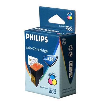 Philips Color Inkjet Cartridge Pfa 534
