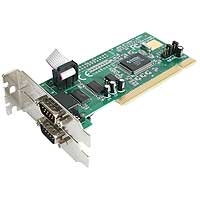 Ver Low Profile 2 Port 16550 Serial PCI Card