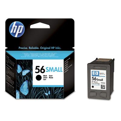 Cartucho Pequeno Negro De Inyeccion De Tinta Hp 56
