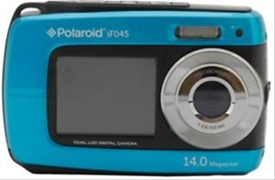 Ver CAMARA DIGITAL POLAROID IF045 14MP 4x SUMERGIBLE AZUL