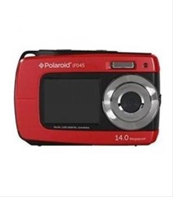 Ver CAMARA DIGITAL POLAROID IF045 14MP 4x SUMERGIBLE ROJA