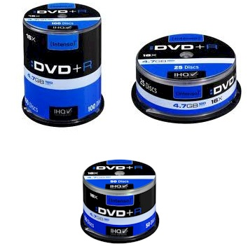 Ver DVD R 47GB 16XSPEED CAKE BOX 50