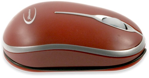 Raton Optico Usb Primux R1 Rojo Notebook