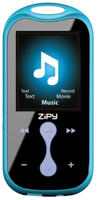 Reproductor Mp4 Zipy 4gb  Azul  18