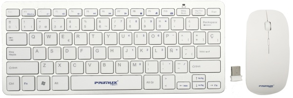 Ver TECLADO Y RATON WIRELESS PRIMUX CW100 SLIM
