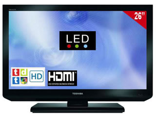 Toshiba 26 Led Hd Tdt Hd Usb Video