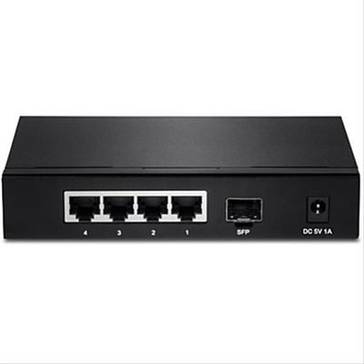 Ver TRENDNET 4 PORT GIGABIT SWITCH WITH SFP IN