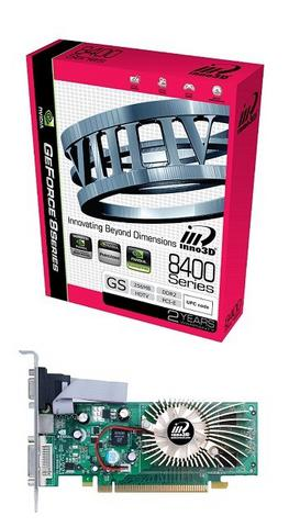 Vga Inno3d Geforce 8400gs 512mb Ddr3