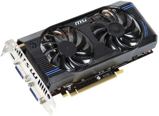 Vga Msi Geforce N560gtx 1gb Gddr5