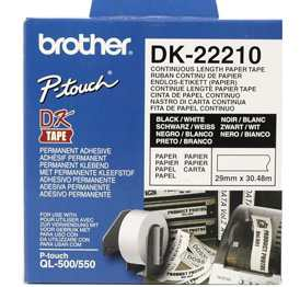 Ver Brother DK-22210 Continuous Paper Tape