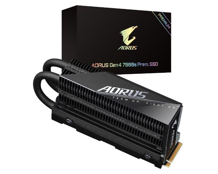 Gigabyte 2tb Ssd M2 2280 Aorus Nvme Gen4 7000s Premium Pcie