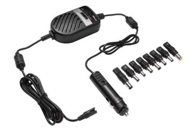 Ac Adapter Coche Notebook 70w Trust