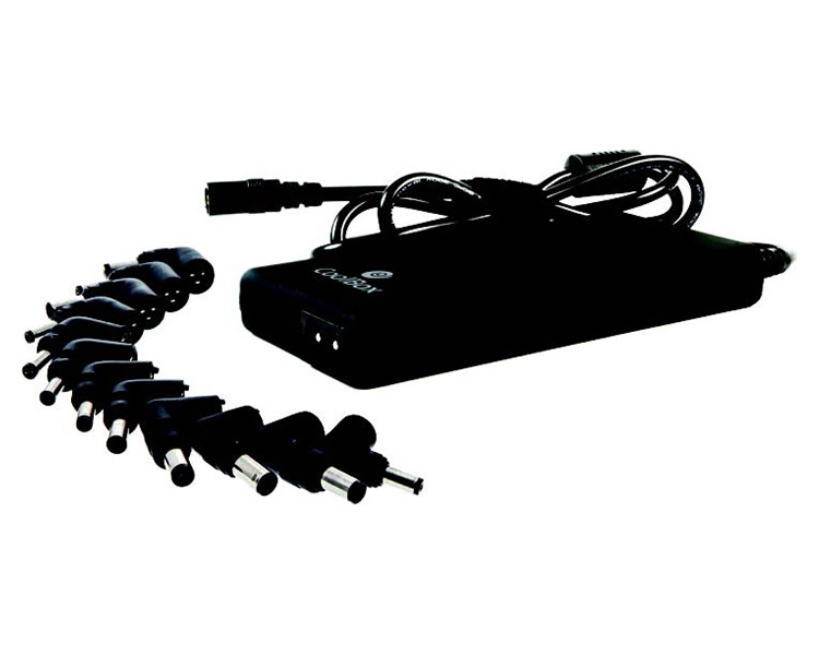 Ver AC ADAPTER UNIVERSAL NOTEBOOK 90W AUT SLIM COOLBOX