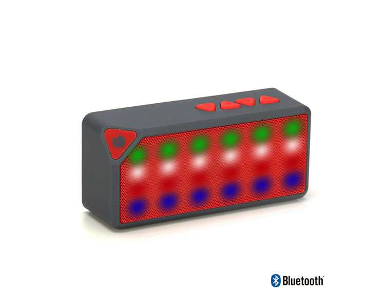Ver ALTAVOZ BLUETOOTH ROLLER FLASH RED NGS
